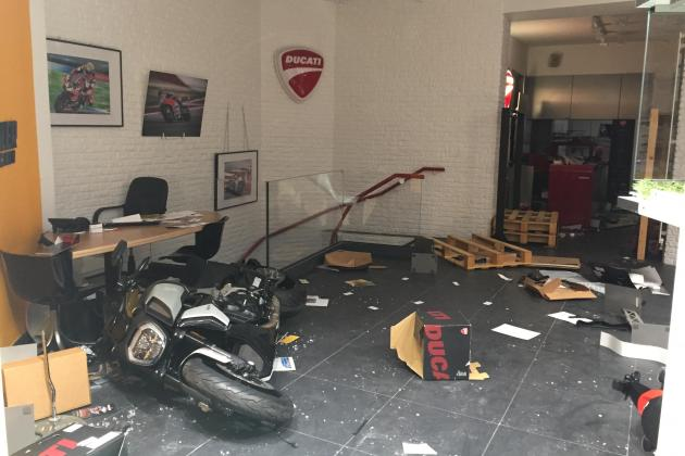 Shops looted, woman dead in France after Algeria football win
