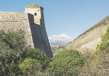 Fortezza di Ali Pasha, Porto Palermo, Albania.