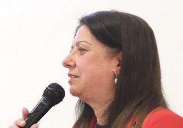 Dr Bernadette Spiteri from Mater Dei Hospital.