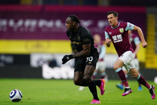 Antonio boosts West Ham's Champions League challenge, WBA headed for relegation
