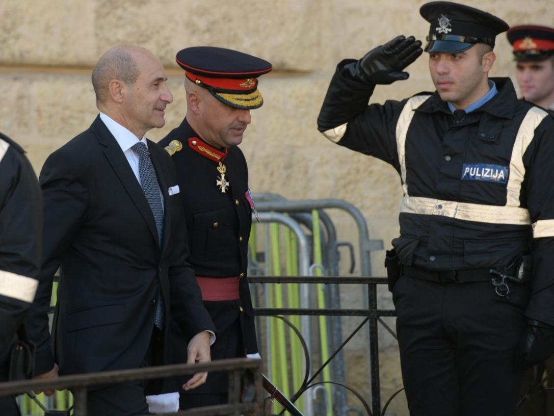 Deputy Prime Minister Chris Fearne attended the Republic Day parade in Joseph Muscat's absence. Photo: Matthew Mirabelli