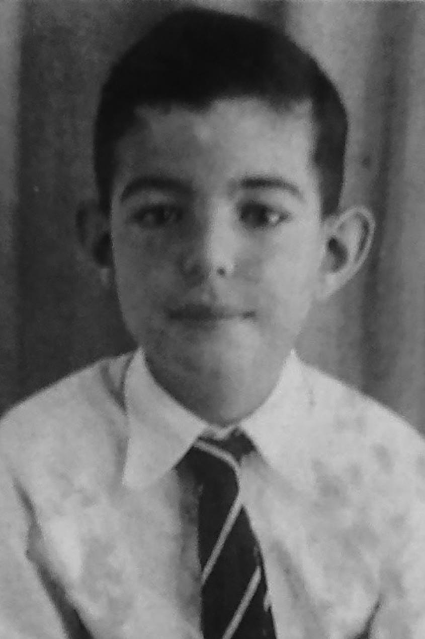 Edward de Bono as a child.