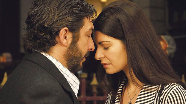 Ricardo Darín and Soledad Villamil in The Secret in Their Eyes.