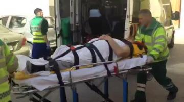 Worker hospitalised after fall in St Venera