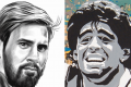 As Messi nears his 31st birthday, Maradona's shadow looms larger than ever
