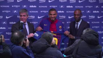 Watch: Boateng prepared for bit-part role at Barcelona   Video: AFP