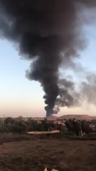 Watch: Major fire at Magħtab waste facility casts dark cloud over Malta