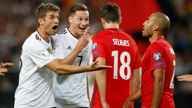 Watch: Germany on brink of World Cup spot after Norway ...