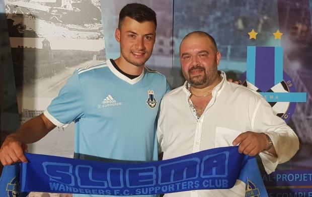 Jean Paul Farrugia (left) will play for Sliema Wanderers next season.