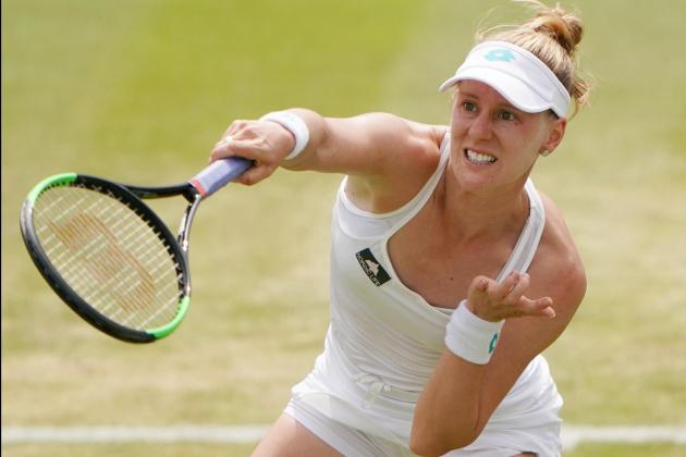 Watch: Riske stuns world number one Barty at Wimbledon