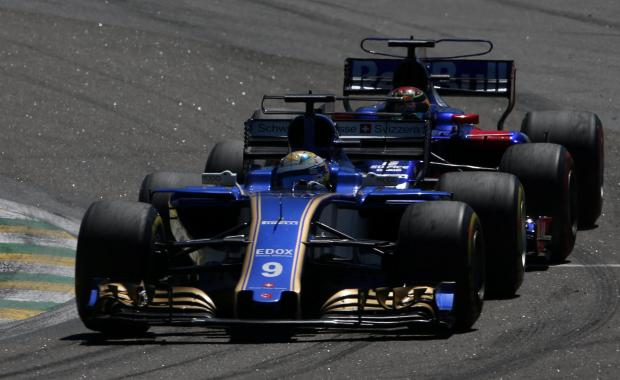 Sauber's Marcus Ericsson in action during last season.