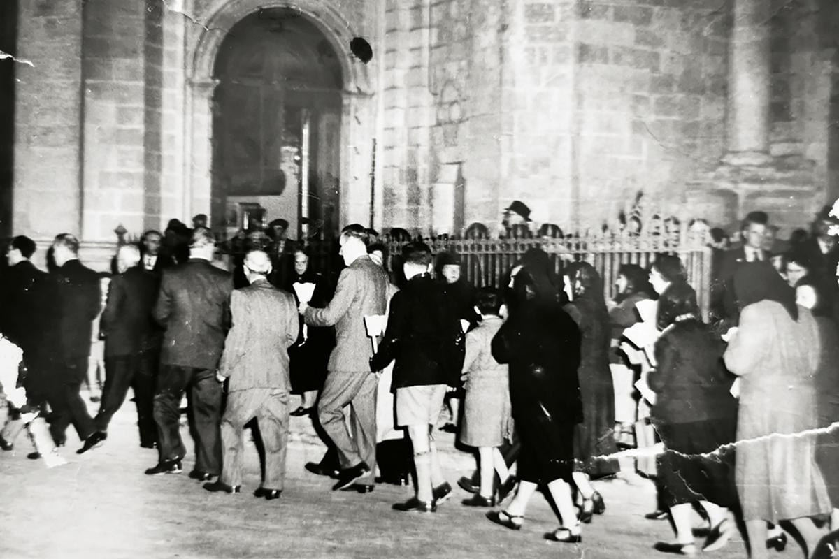A pilgrimage to the Żabbar sanctuary.