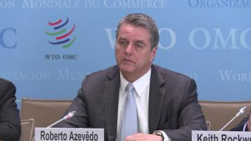 Global tensions to force trade slowdown in 2019: WTO | A hard Brexit would make the forecast even worse.