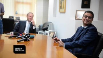 Watch: Muscat, Delia discuss Air Malta, free votes, in first meeting