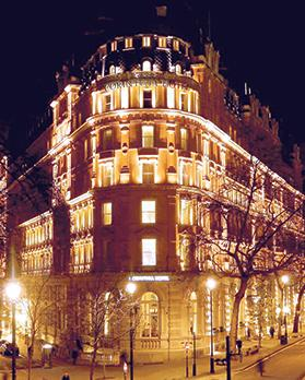 The Corinthia Hotel London, touted as the ultimate in luxury, has a five-star classification.