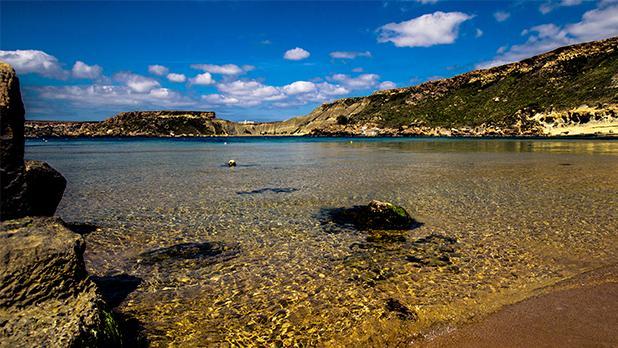 Ġnejna Bay. Photo: Anton Farrugia