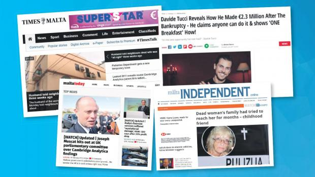 Local news sites are 'competing' with false news sites simply bent on making money.