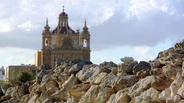 St Anthony of Padua Church, Ghajnsielem, Gozo. Photo: Joseph F. Camilleri
