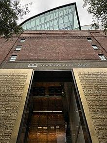 The Museum of the Bible in Washington DC. Photo: Wikimedia commons