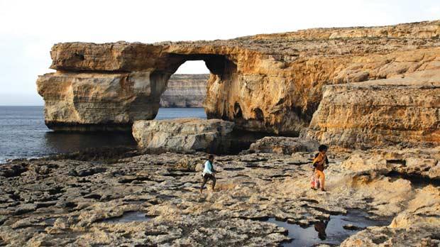 "Further erosion of Gozo's Azure Window is ""inevitable"". Photo: Darrin Zammit Lupi"