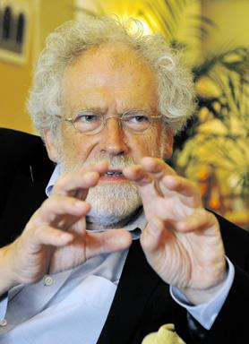 Anton Zeilinger – professor of physics at the University of Vienna and winner of the Newton Medal and the Wolf Prize in Physics – is in Malta to deliver a public lecture this evening. Photo: Chris Sant Fournier