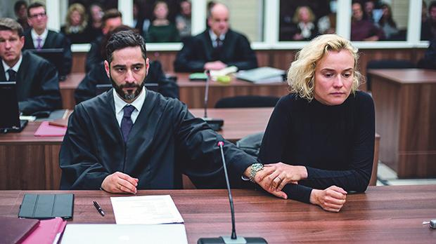 Denis Moschitto and Diane Kruger in a scene from In the Fade.