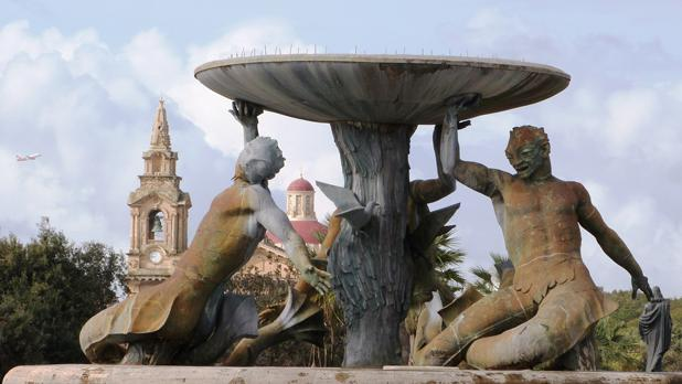 Triton Fountain. Photo: Judith Klement