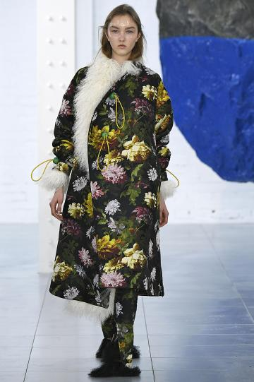 The Preen collection took its inspiration from women living on a Korean island. Photo: London Fashion Week