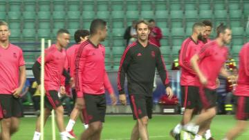 Watch: Real Madrid train ahead of Atletico Madrid clash
