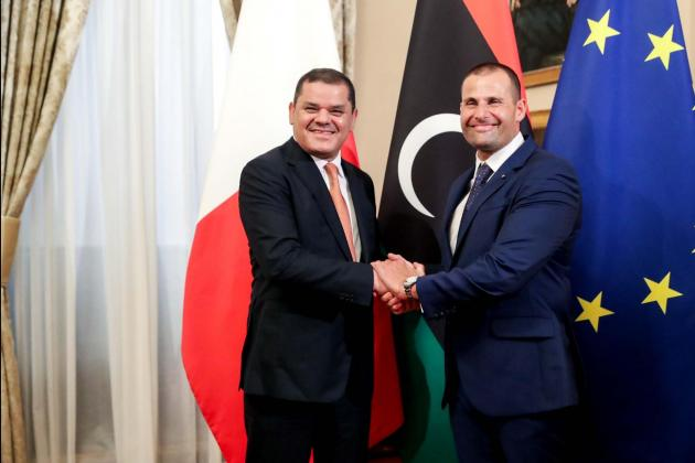 Malta and Libya agree to work together to tackle smugglers, facilitate business