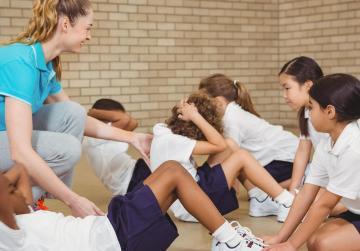 Schoolchildren want a more diverse PE curriculum