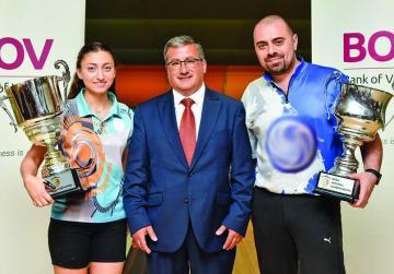 Mauro Anastasi back-to-back Bowling National Champion