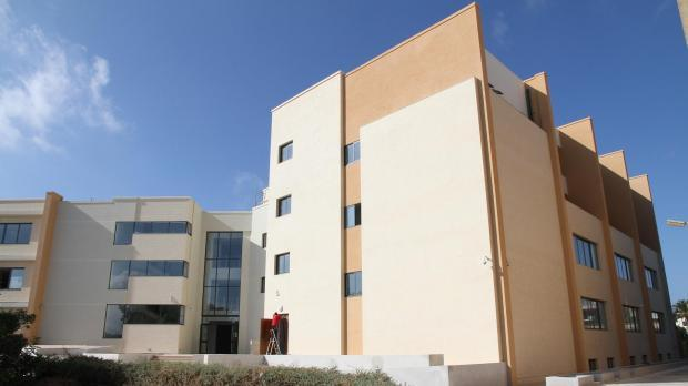 The new wing of the Minor Seminary in Rabat.