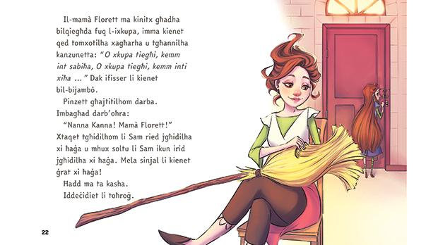 Malta will soon have its first Maltese fiction reader for children that uses a font specially designed for people with dyslexia. Photos: Merlin Publishers