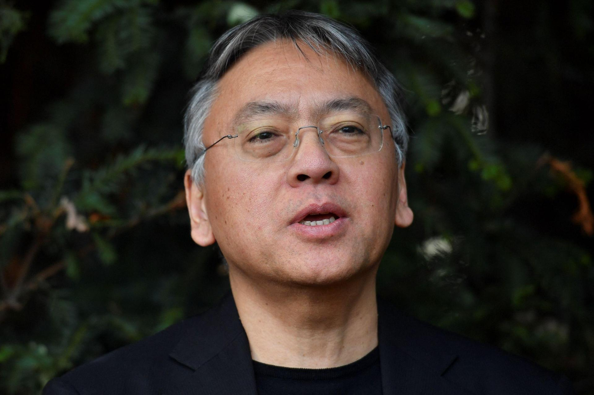 British author Kazuo Ishiguro. Photo: Ben Stansall/AFP