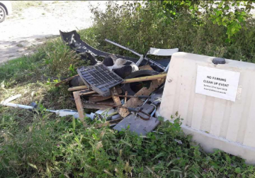 Council left speechless as rubbish is dumped after clean-up