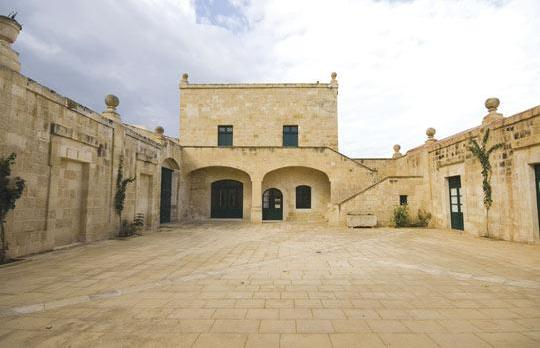 Villa Cagliares in Zejtun was restored using traditional techniques while respecting its character and identity. Photo: Alberto Favaro