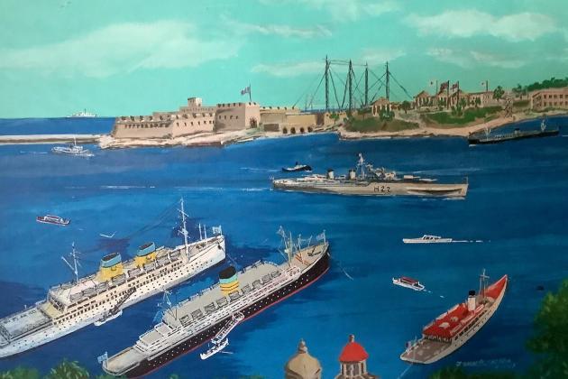 A Maltese-American remembers the dockyard and World War II