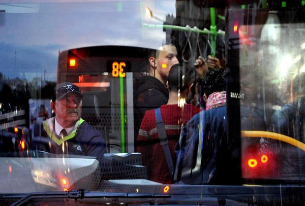 Commuters catch the bus from Msida on December 4. Photo: Chris Sant Fournier