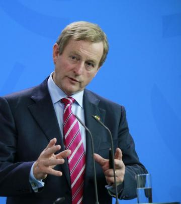 Enda Kenny has made Ireland's position clear. Photo: Shutterstock