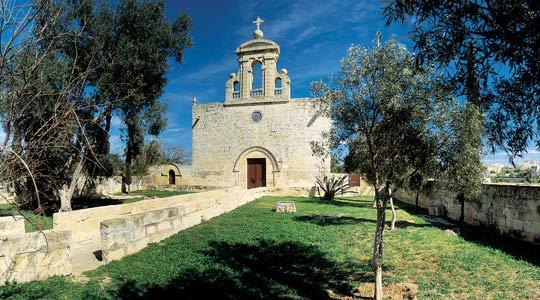 The Mediaeval chapel of the Assumption of Our Lady, Bir Miftuħ.