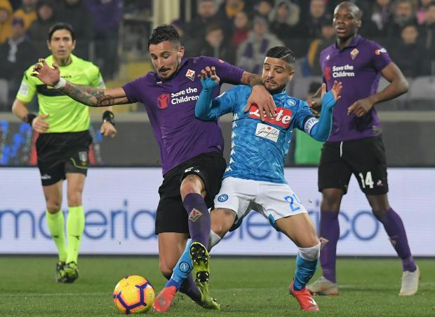 Napoli dropped more points after they were held by Fiorentina in Florence.