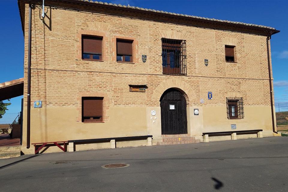 The Albergue de Bercianos del Real Camino, where the author spent 14 days volunteering.
