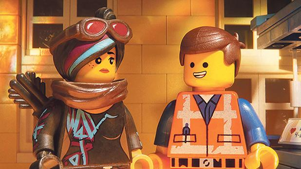 Emmet and Lucy are putting the pieces back together again in The Lego Movie 2: The Second Part.