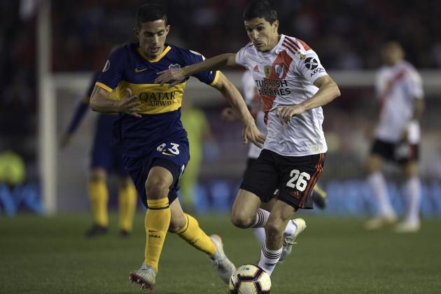 Watch: Champions River Plate draw first Libertadores blood against Boca