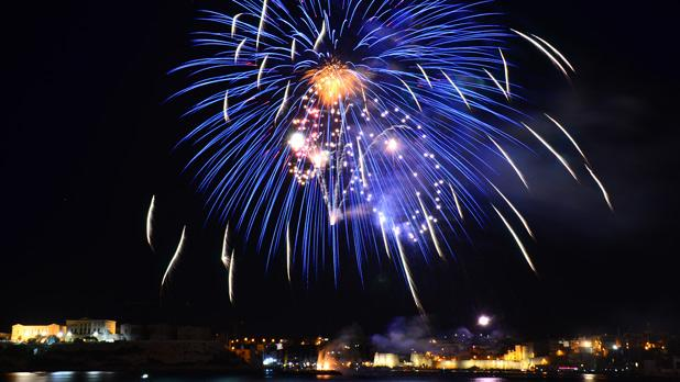 Malta International Fireworks Festival. Photo: Franz Tabone