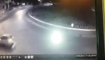 Watch: Car flies over roundabout, prompting incredulity on social media