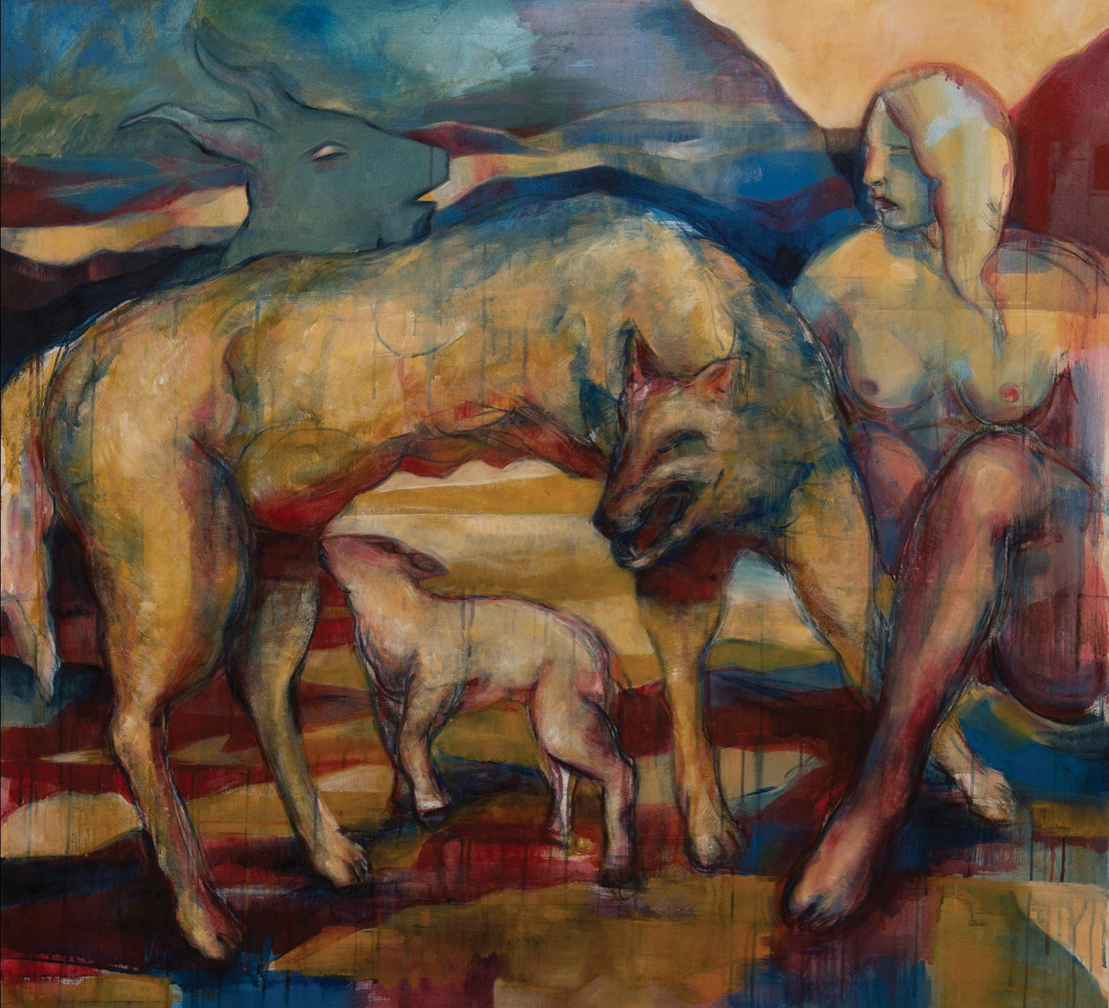 After Eliran Kantor, Goya and Diana (and Acteon) (2020), Gabriel Buttigieg