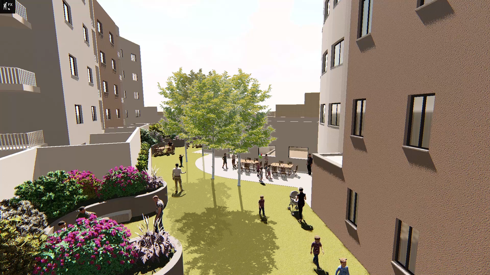 Affordable housing project in outer fringes of Fgura