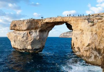 Signs, flyers and a webcam to keep visitors off the Azure Window